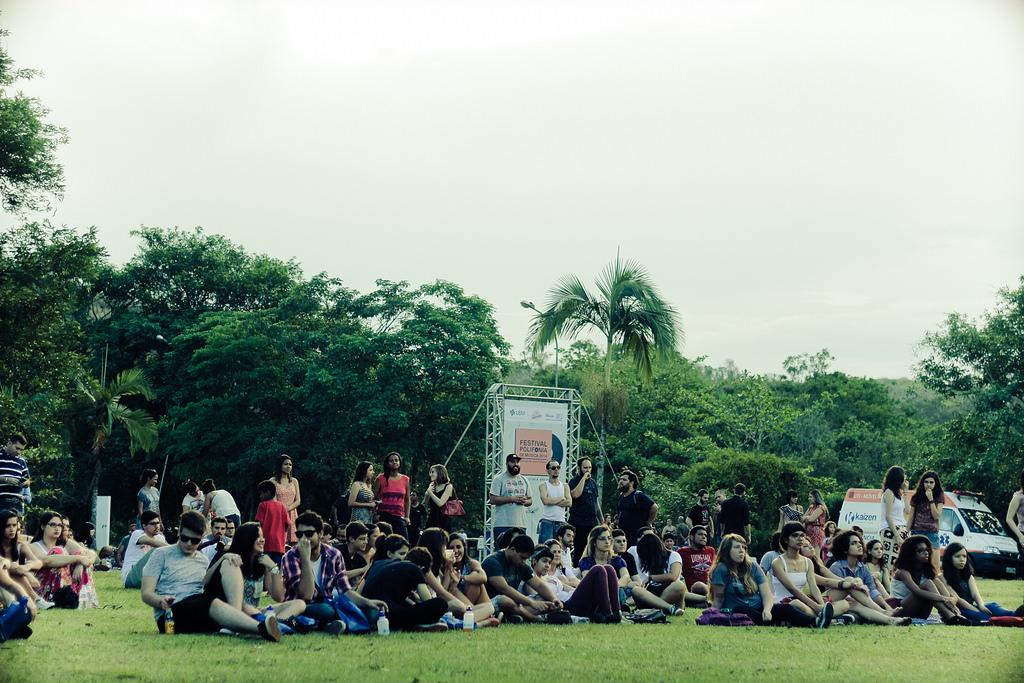 Festival Polifonia 2014. Realizado no UBM Campus Cicuta (Volta Redonda)